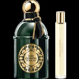 Cofre de viaje Oud Essentiel Eau de Parfum y vaporizador para el bolso