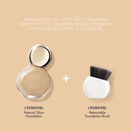 Retractable foundation brush (See 4/4)