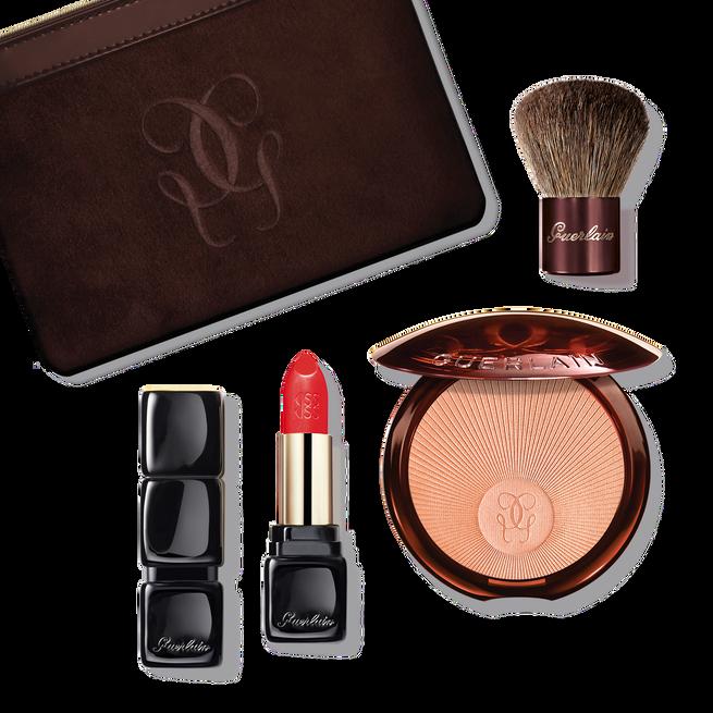 Healthy glow kit: Terracotta glow powder & KissKiss lipstick (See 1/4)