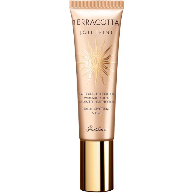 Beautifying foundation sun-kissed, healthy glow (See 1/1)