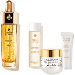 Abeille Royale Age-defying discovery set: Lotion, Oil, Cream, Eye cream