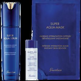 Super Aqua-Serum Programma di trattamento completo: siero, lozione, maschera