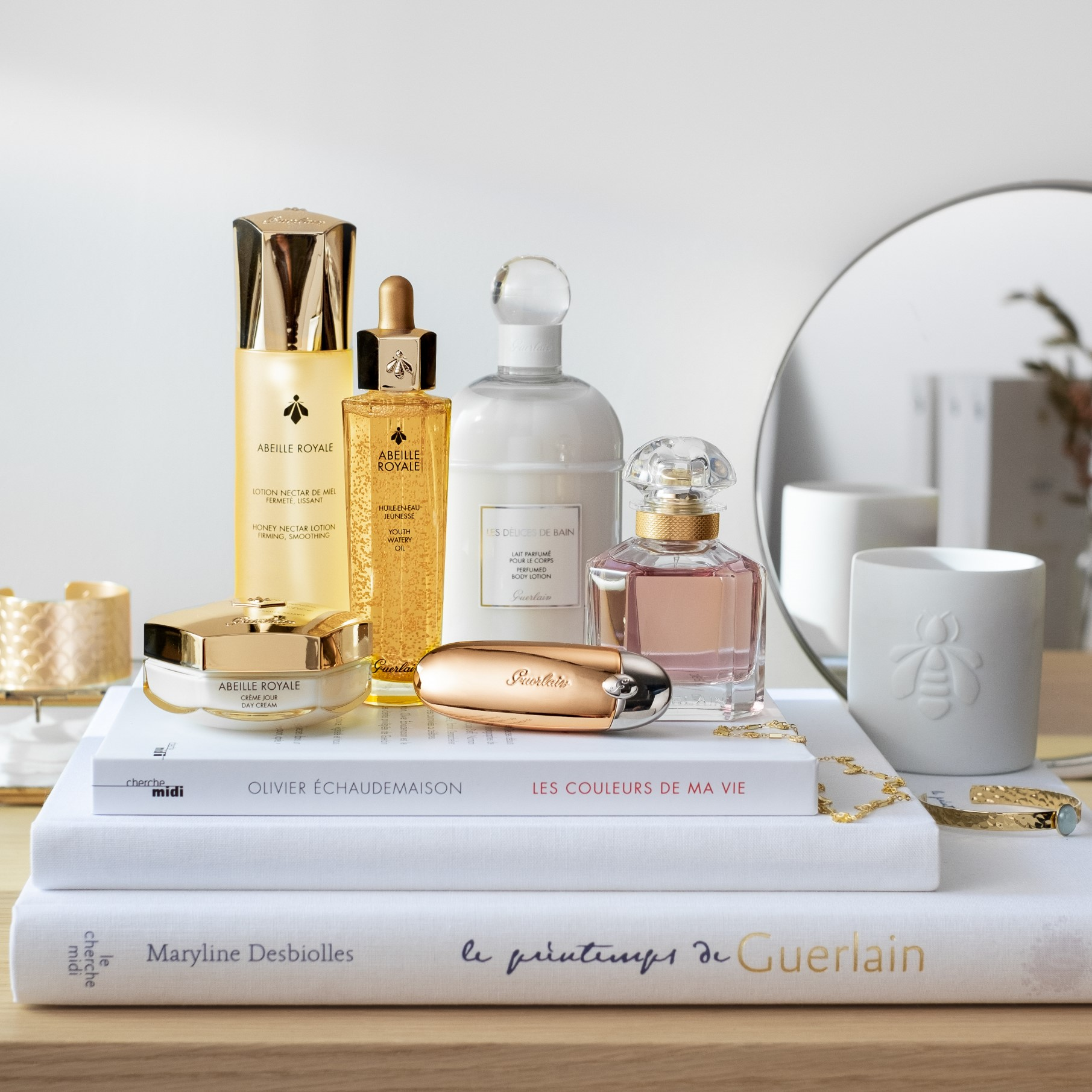 Take care with Guerlain